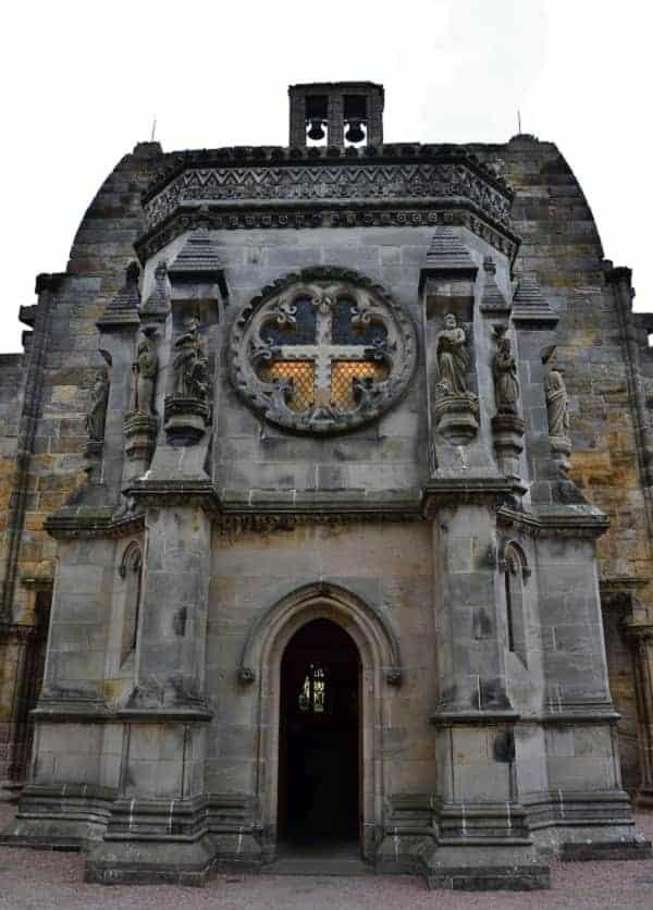 Front of Rosslyn Chapel