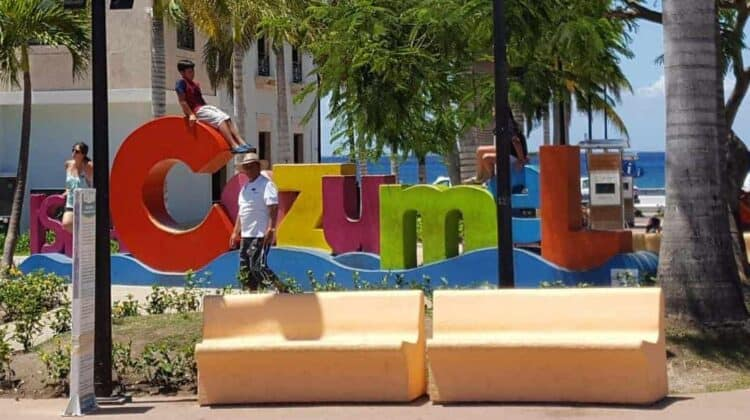 Cozumel Mexico Sign