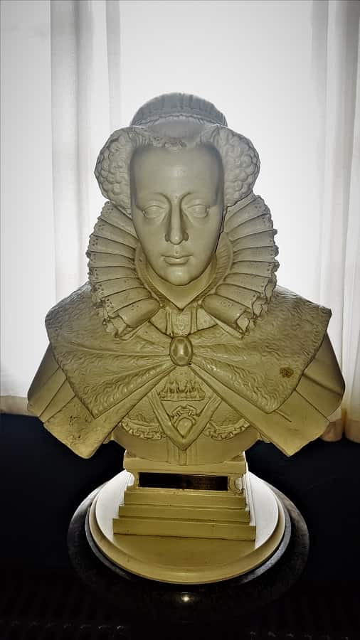 Bust of Mary Queen of Scots