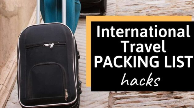Packing Hacks for International Travel