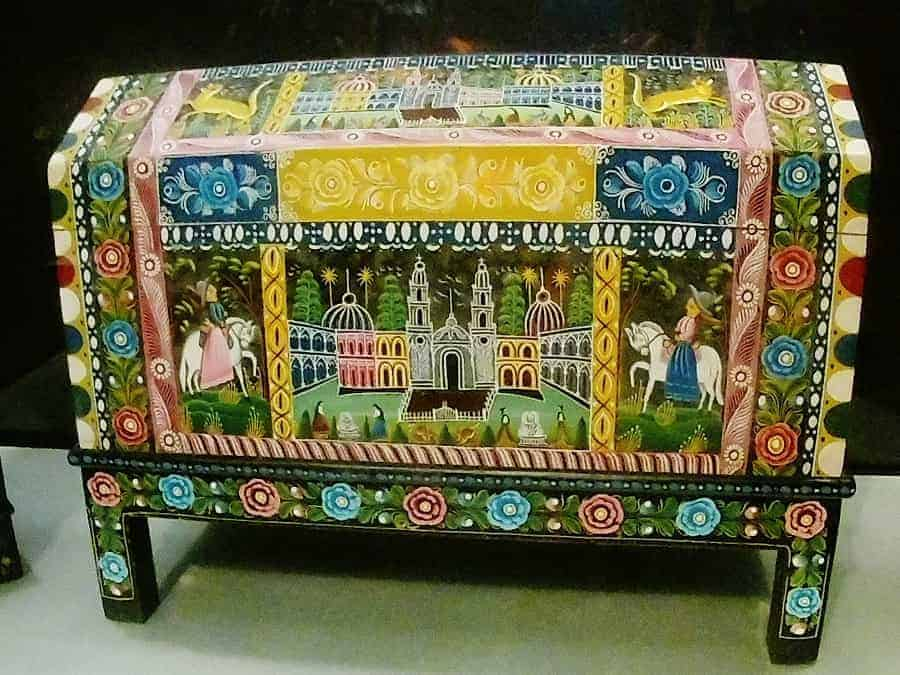 Mexican Painted Chest