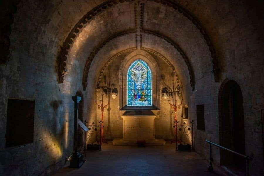 Rosslyn Chapel Cxrypt