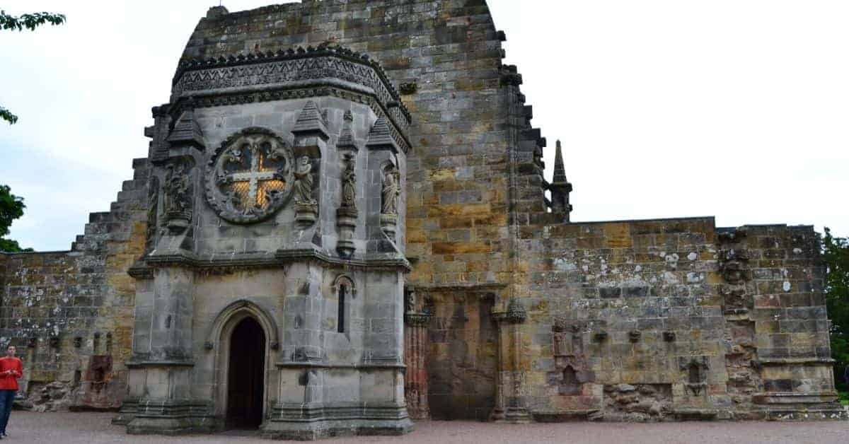 History of Rosslyn Chapel in Scotland