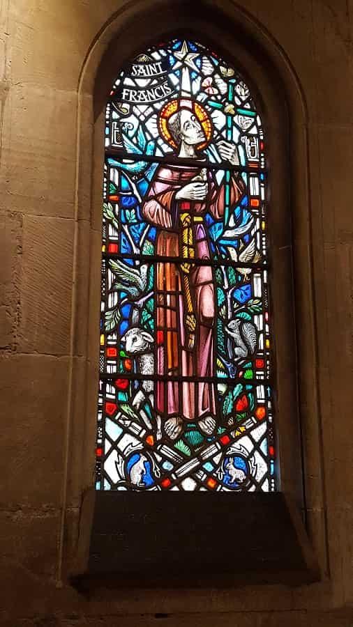 Stained Glass in Rosslyn Chapel