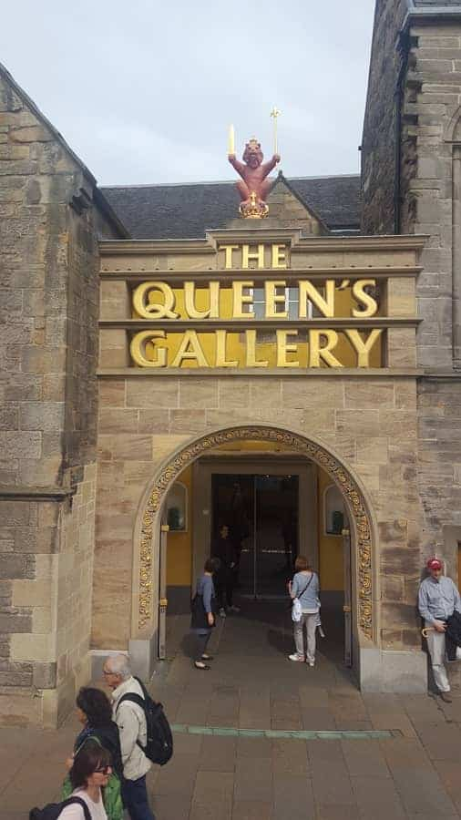 The Queen's Gallery in London England