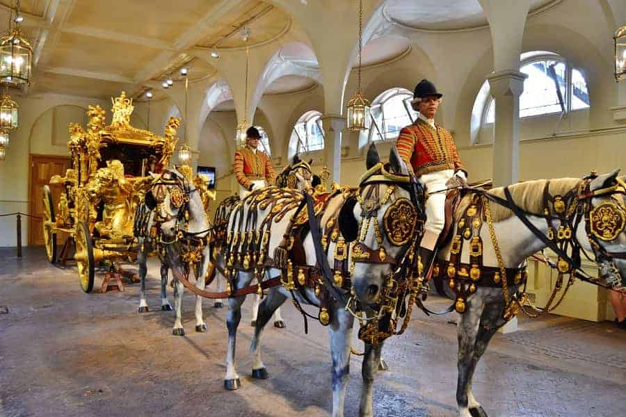 Royal Mews in London England