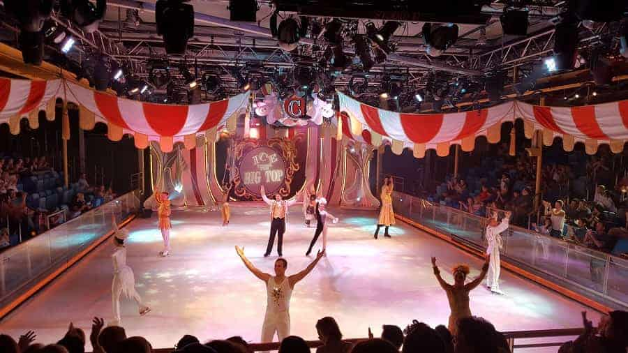 Big Top Ice Show on Mariner of the Seas