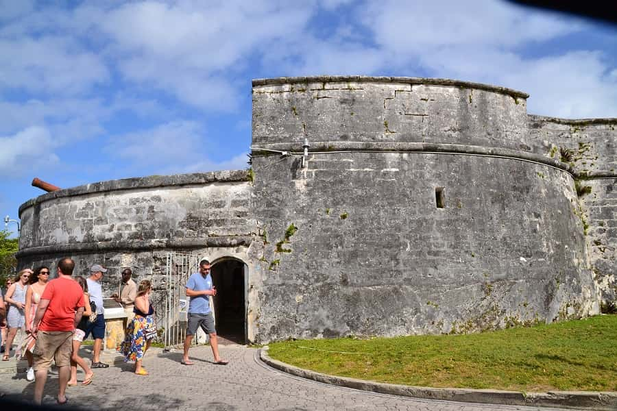 Fort Fincastle in the Bahamas