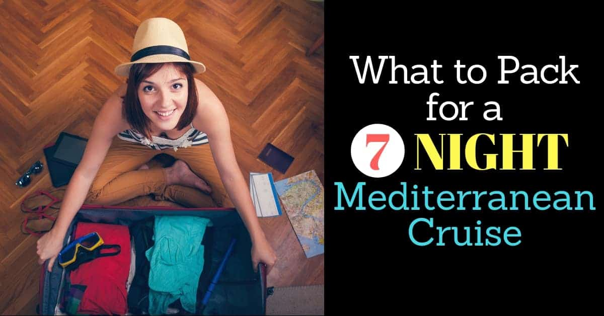 Packing List for Mediterranean Cruise