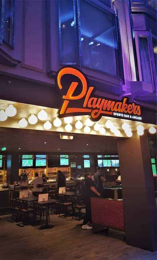 Playmakers Sports Bar on Mariner of the Seas