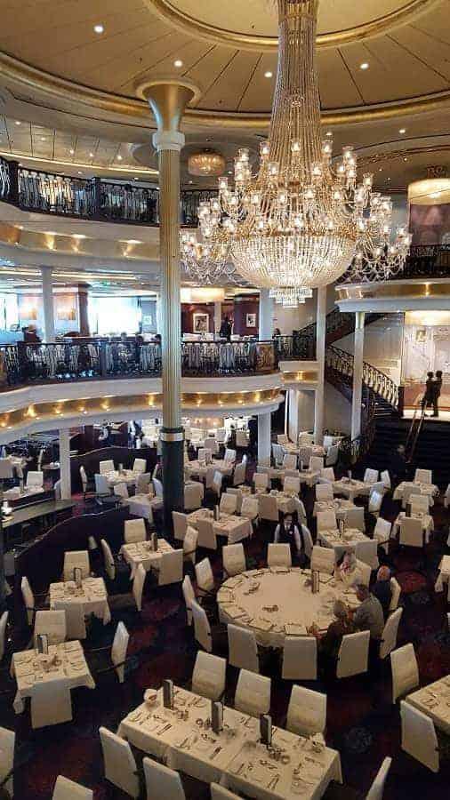 Main Dining on Mariner of the Seas