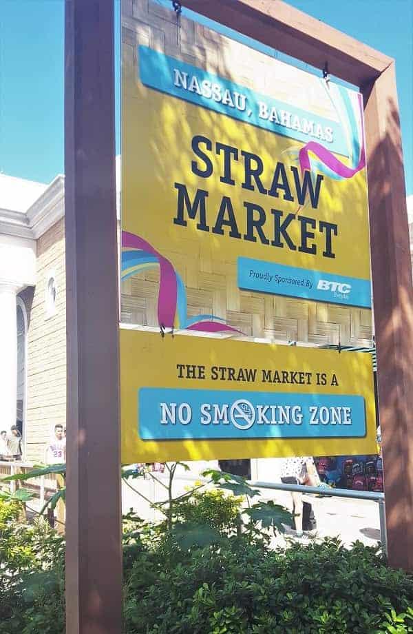 Straw Market in Bahamas