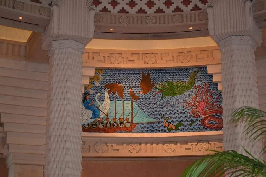 Mosaics in Atlantis Bahamas