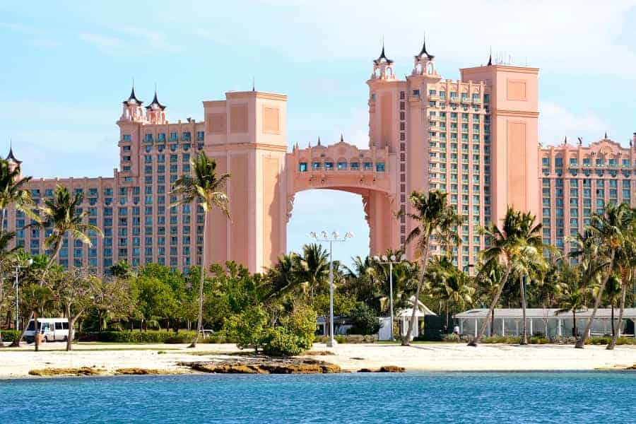 Atlantis Paradise Island in the Bahamas