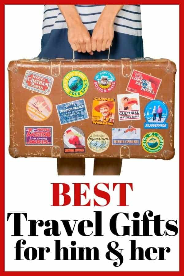 7 Best Travel Gifts for Him & Her