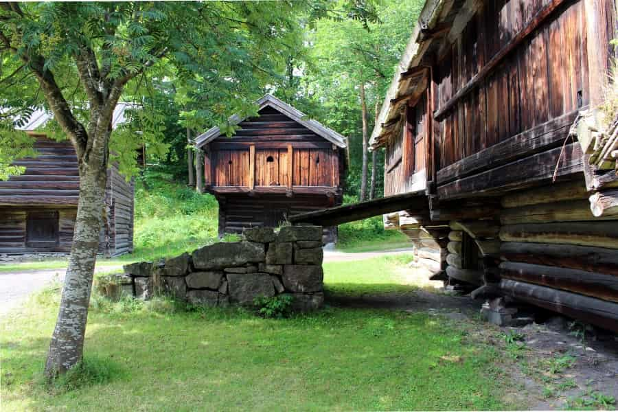 Norwegian Folk Museum Buildings