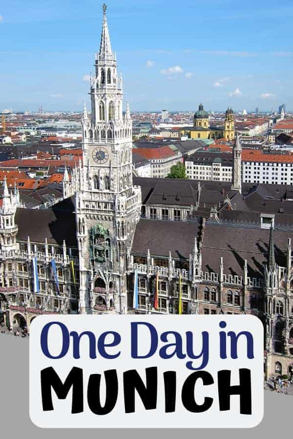 The BEST One Day in Munich Itinerary