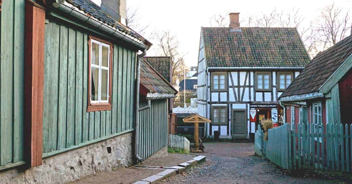 Walk through historic homes in Oslo