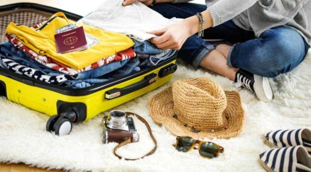 Packing list for international travel
