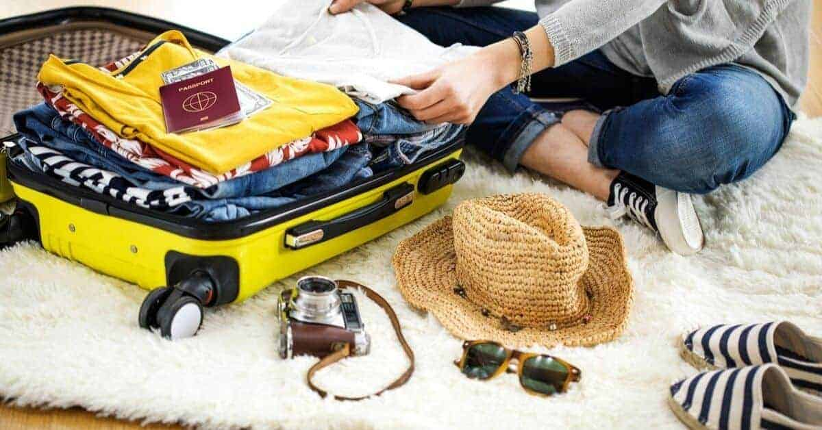Packing list for international travel