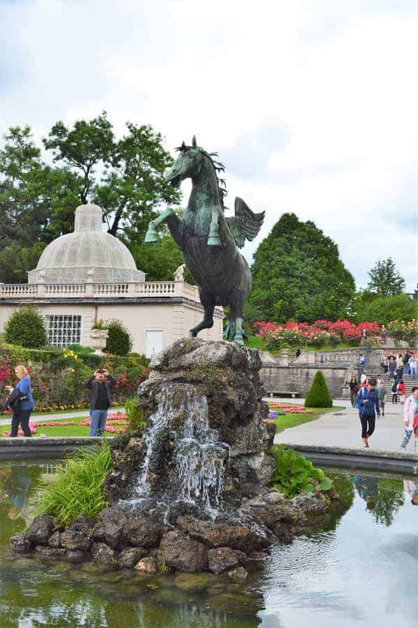Pegasus Fountain in Salzburg