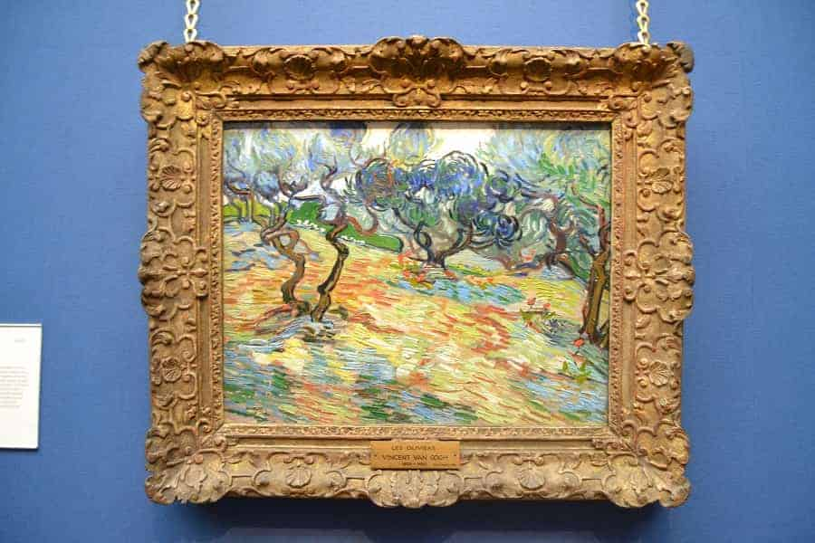 Van Gogh Painting in Scotland National Gallery