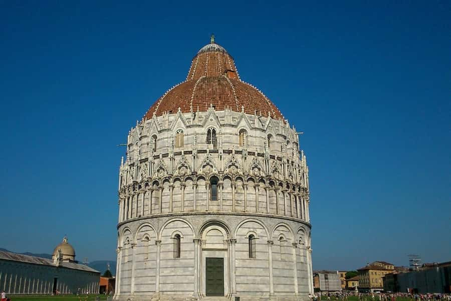 Baptistry in Florence Italy