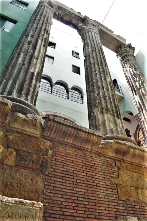 Temple of Augustus in Barcelona
