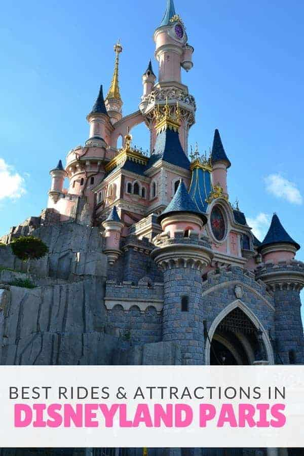 The BEST Disneyland Paris Attractions & Rides