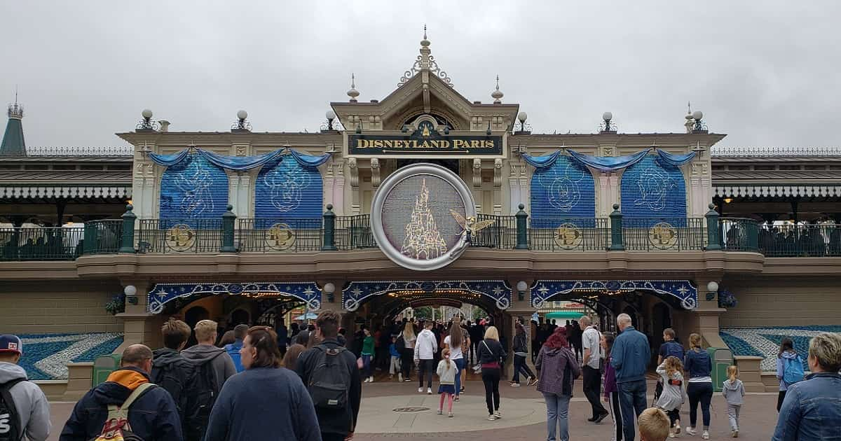 Disneyland Paris Gates