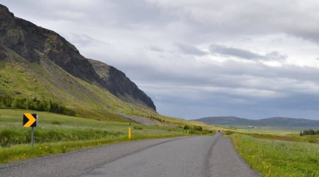 Driving the Golden Circle Route in Iceland