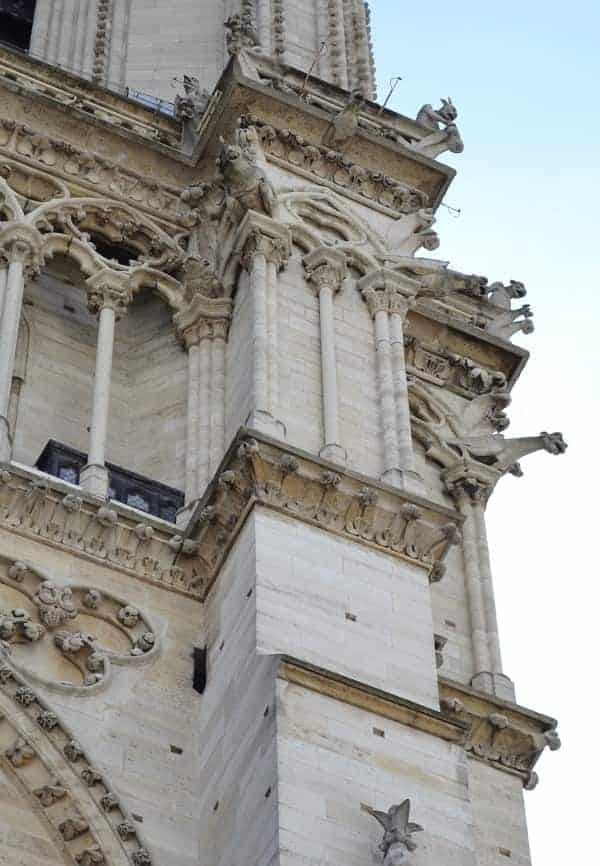 Gargoyles on Notre Dame Cathedral