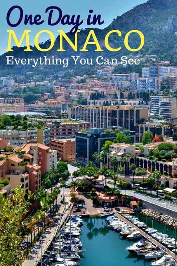 Things to Do in Monaco for the Day on Vacation
