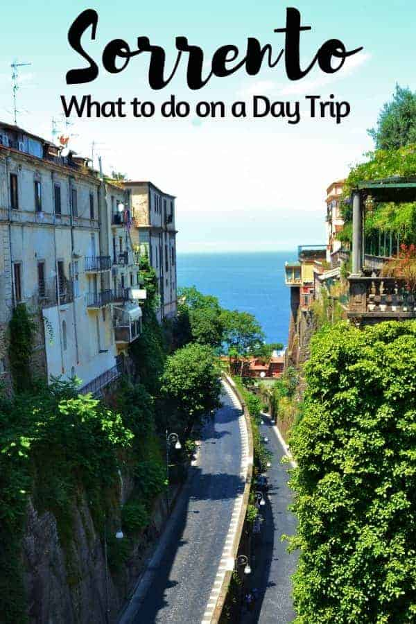 What to do in Sorrento on a Day Trip