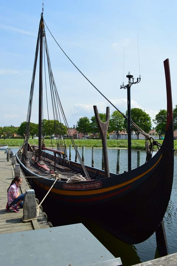 Taking Kids to Viking Museum in Denmark
