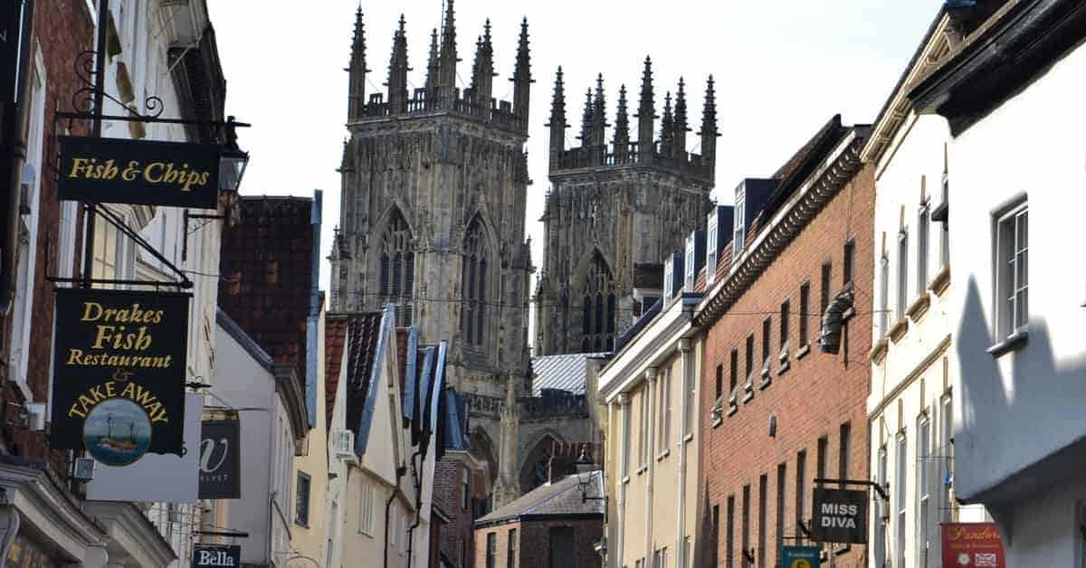 Visiting York England