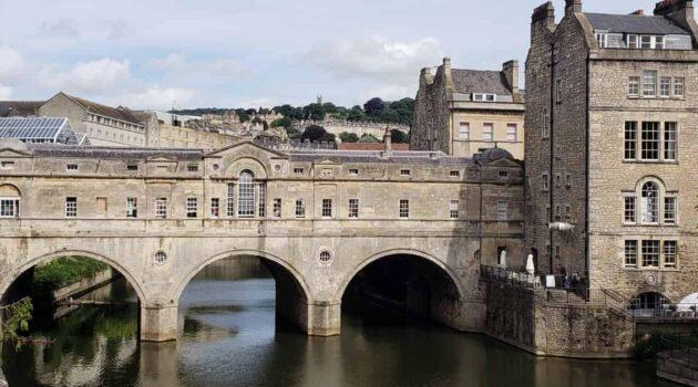 Pultney Bridge in Bath England