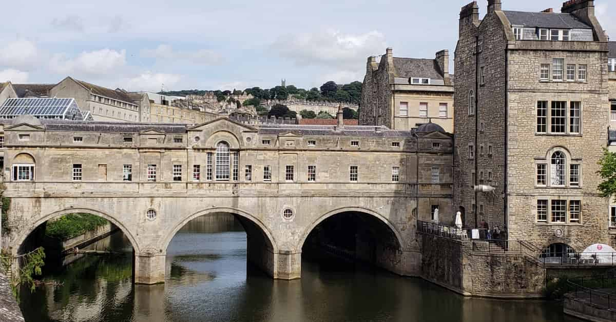 Pultney Bridge in Bath England
