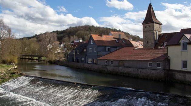 Creglingen Town in Germany