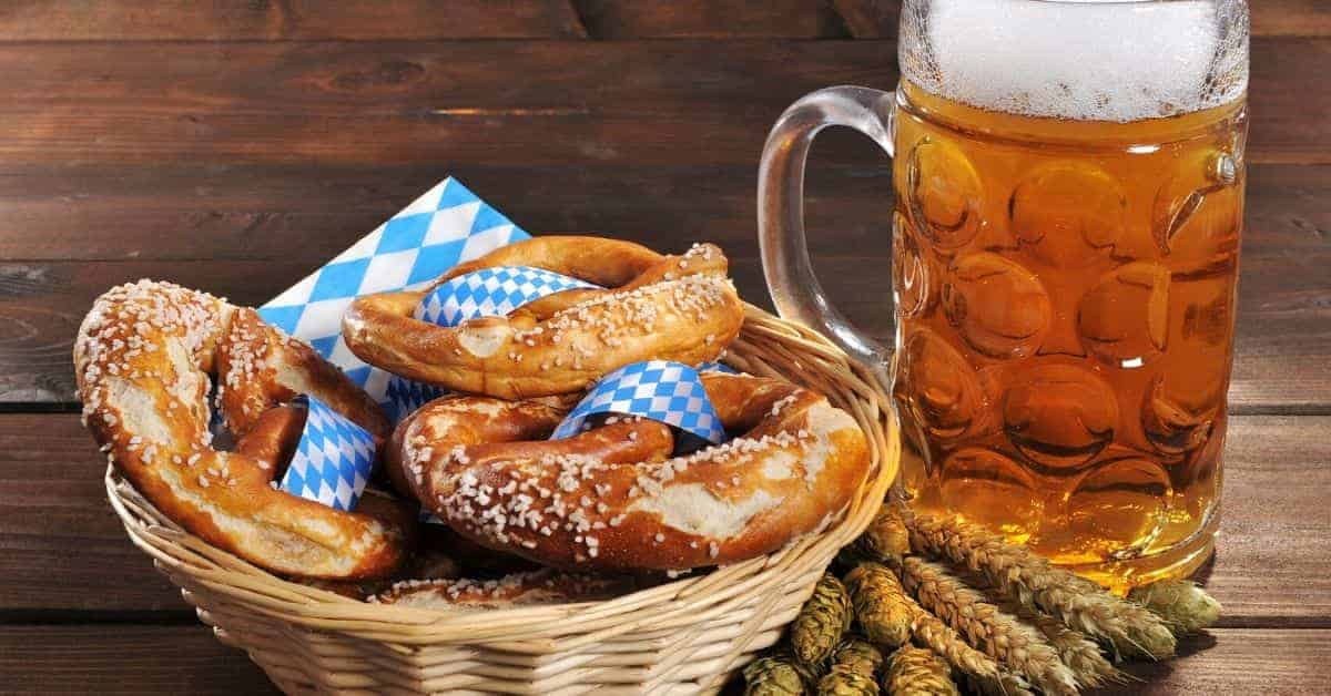 German Beer & Pretzels