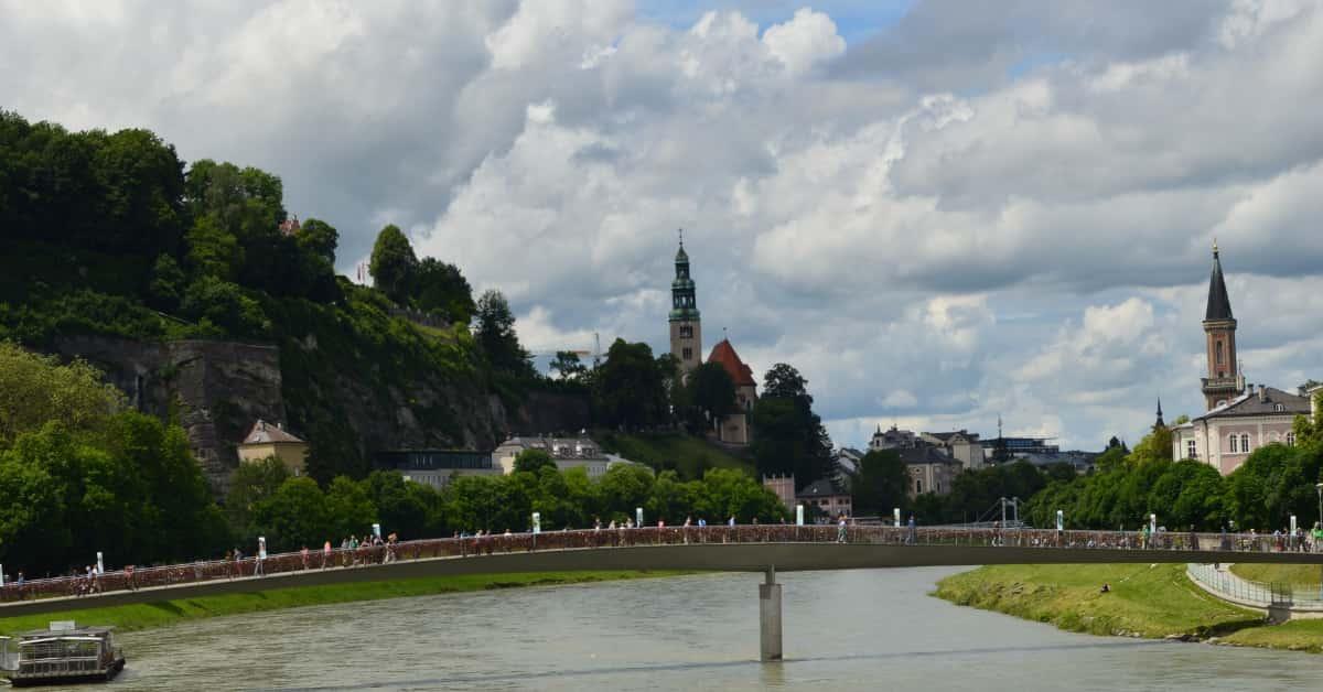 Salzburg River Bridge