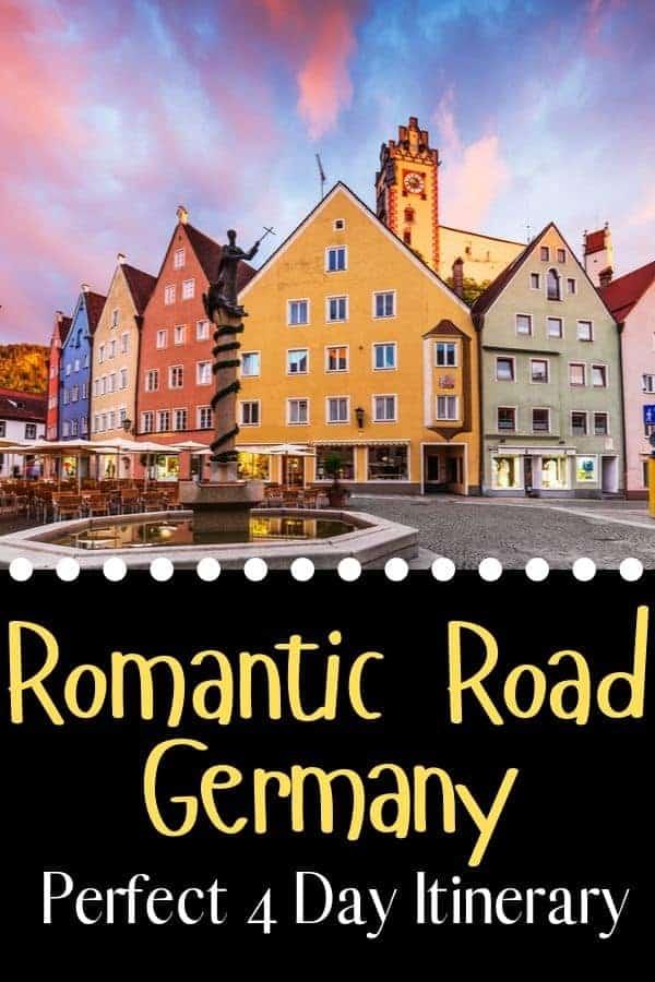 Romantic Road Germany Itinerary