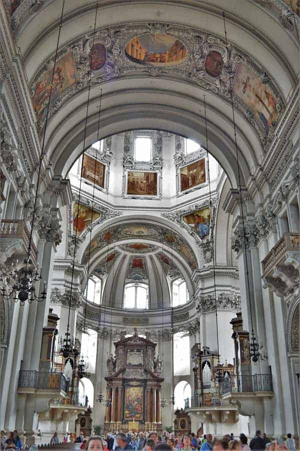 Interior of Salzburg Cathedral