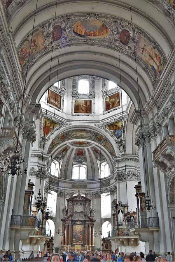 Interior of Salzburg Cathedral