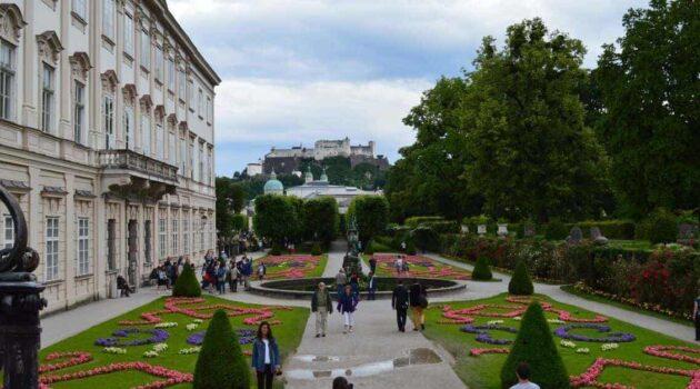 Salzburg Mirabell Garden View