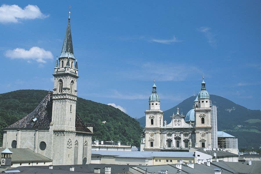 Historic Buildings in Salzburg