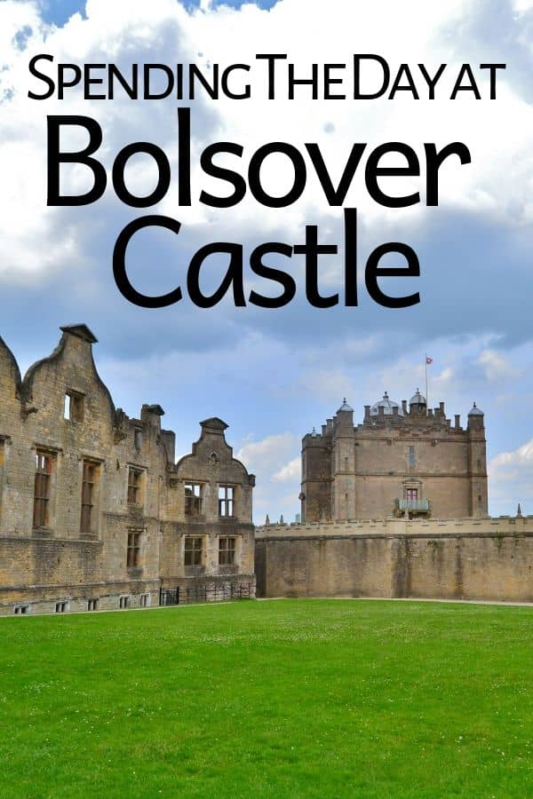Tour of Bolsover Castle in Derbyshire England