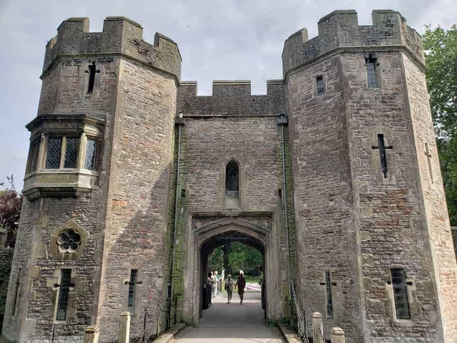 Wells England Bishop Palace