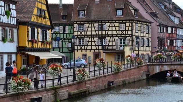Storybook Town in Alsace Region: Colmar