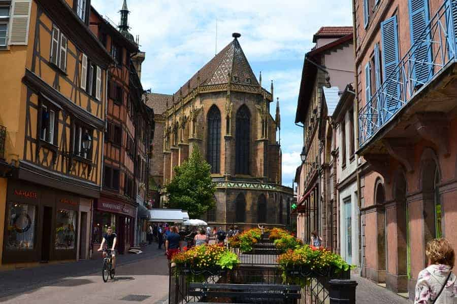 View of Church from Colmar Street